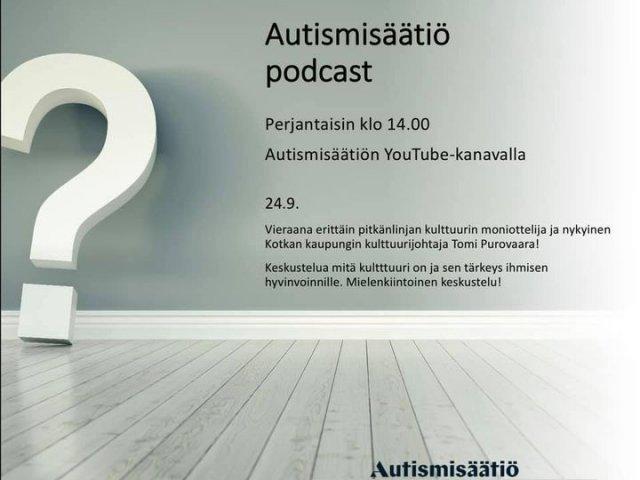 Tänään podcastissa kulttuurista!   Kulttuurijohtaja Tomi Purovaara avaa kulttuuria ja sen merkityksiä ihmisen hyvinvoinnille   h...